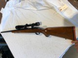 Early Red Pad Tang Safety Ruger M - 77 Varmint 25/06