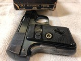 Colt 1908 Vest Pocket Hammerless .25 ACP Complete With Original Box & Hanging Tag - 4 of 5