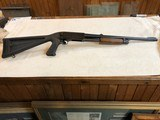 """Ithaca Model 37 12 GA 2 3/4""""Early Model With Tactical Pistol Grip StocK and Ray Ban Site"""