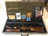 Valmet Model 412: 3-Barrel O/U Rifle / Shotgun Combo With Single Selective Trigger