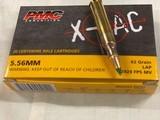 223. - 5.56 - 40 S&W - 10MM - 45 ACP-308 FMJ/Tracer Belted - 12 GA 00 Buckshot - 12 GA HP Slugs - 12 of 16
