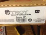"Troy 16"" Upper w/ PDW stock 5 30rd mags - 1 of 3"