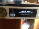 IWI Tavor 9mm kit w 2 32 round mags conversion kit.