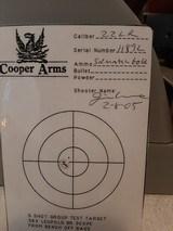 Cooper Model 57 M .22 LR. Montana Varminter LH. - 7 of 7