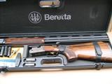 """BERETTA 682 GOLD """"SUPER TRAP"""" 12 GAUGE O/U 30"""" WITH BERETTA FACTORY MOBILE CHOKES"""