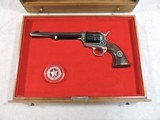 1970 Texas Ranger Commemorative Colt SAA .45LC with Presentation Case and cowhide bound Book