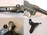 Dutch Airforce Contract DWM Luger P.08 9mm Semi-Auto Pistol Numbers Matching - 3 of 15