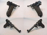 Dutch Airforce Contract DWM Luger P.08 9mm Semi-Auto Pistol Numbers Matching - 2 of 15