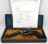 COLT SINGLE ACTION ARMY 45 CALIBER 2ND GENERATION ORIGINAL BOX LETTER MINT CONDITION - 1 of 15