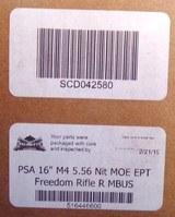 "PALMETTO STATE ARMORY SA PA-15 16"" Nitride M4 Carbine 5.56 NATO MOE AR-15 Rifle, Black - 12 of 12"