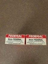 9mm Federal rimmed ammunition - 1 of 2