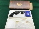 Colt New Frontier .22/22 Mag Unfired in Original Box with Paperwork