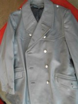 German Military Police Official Issue Leather Coat