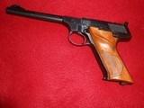 colt woodsman target model, .22 lr