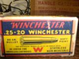 Winchester 25-20Ammo