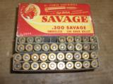 Savage Brand 300 Savage ammo