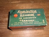 Remington Brand 30 Rem. Caliber