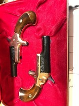 Matched Pair Colt .22 Short Caliber Derringers