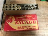 Savage Brand 30-30 and 22 Hornet