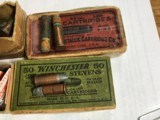 Winchester 25 Stevens Short and UMC32 Long Shot - 3 of 4