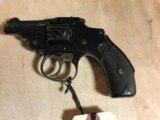 S&W 32 Safety Hammerless(Lemon Squeezer) Bicycle Gun - 1 of 8