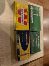 Winchester, Remington, Dominon 303 British