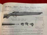 Westley Richards and Holland and HollandSales Literature - 10 of 12