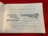 Westley Richards and Holland and HollandSales Literature - 8 of 12