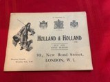 Westley Richards and Holland and HollandSales Literature - 7 of 12