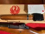 Ruger Mini 14Blued With Wood Stock - 10 of 11
