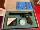 Smith and Wesson Model 41 with Model 78G Air Pistol