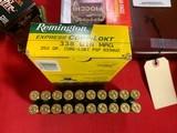 Remington 338 Win Mag250 Grain