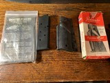 Colt 1911 Pachmayr Grips and Officers Model Mag
