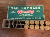 Remington 348 Caliber Dog Bone Box
