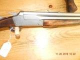 Savage 24 nickel 357 maxium x 20 gauge with pistol grip Rare - 3 of 11
