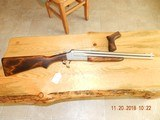 Savage 24 nickel 357 maxium x 20 gauge with pistol grip Rare - 1 of 11