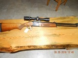 Baikal combo 308 x12 Gauge with 4x12 scope