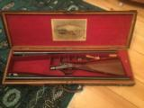John Dickson & Son 10 and 12 Gauge Double Barrel Shotgun - 1 of 15