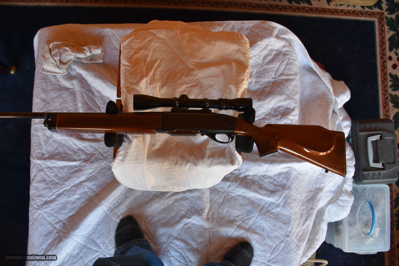 Remington 742 Woodsmaster BDL Custom Deluxe