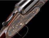 ARRIETAA 12-BORE 'GUNMARK CROWN'(Same as model 557/558), SIDELOCK EJECTOR, WITH REMOVABLE STRIKER DISCS, ARTICULATED FRONT TRIGGER, LIKE NEW.