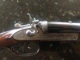 Army & Navy Side lock Hammer Gun, 12 gauge