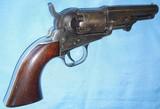 ANTIQUE 1849 COLT POCKET REVOLVER CIVIL WAR ERA 1862