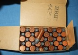 * Vintage AMMO CANUCK 25 STEVENS RIMFIRE RF SHORT FULL BOX NOS - 2 of 5