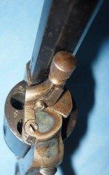 * Antique 1890s BLUE & CASE COLOR .320 CF BULLDOG REVOLVER DIEUDONNE DEROUXTAY - 15 of 15