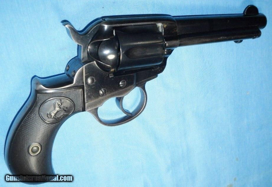 COLT MODEL 1877 THUNDERER 41 CAL DOUBLE ACTION REVOLVER C&R 1901
