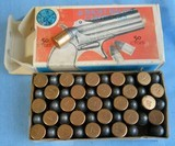 Vintage AMMO ,41 RIMFIRE RF SHORT NAVY ARMS FULL BOX