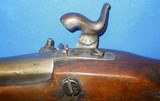 * Antique EARLY 1800sFLINTLOCKMILITARY RIFLE MUSKET PERCUSSION CONVERTED - 17 of 20