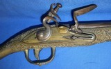 * Antique FLINTLOCK MIDDLE EAST ALL METAL PISTOL ARMY MAJOR BRING BACK 1951 - 3 of 20