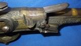 * Antique FLINTLOCK MIDDLE EAST ALL METAL PISTOL ARMY MAJOR BRING BACK 1951 - 11 of 20