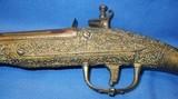 * Antique FLINTLOCK MIDDLE EAST ALL METAL PISTOL ARMY MAJOR BRING BACK 1951 - 17 of 20